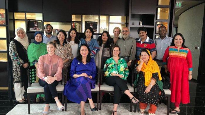 Laporan Perjalanan PPI pada Workshop GS White Ribbon Alliance di Dubai