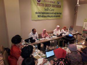 Pita Putih Indonesia Self Care FGD