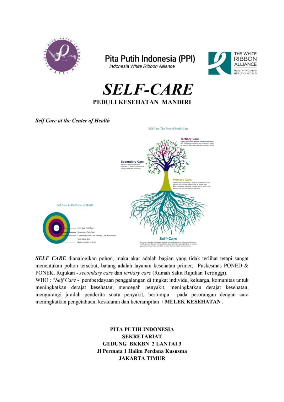 Self Care – Peduli Kesehatan Mandiri