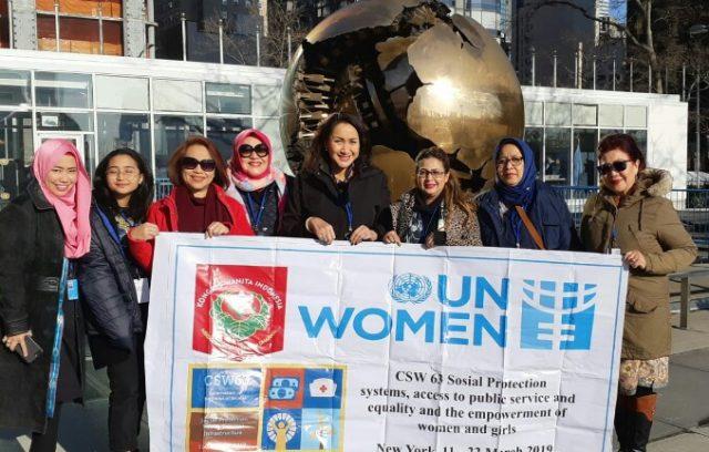 Delegasi PPI Hadiri CSW 63 Di New York