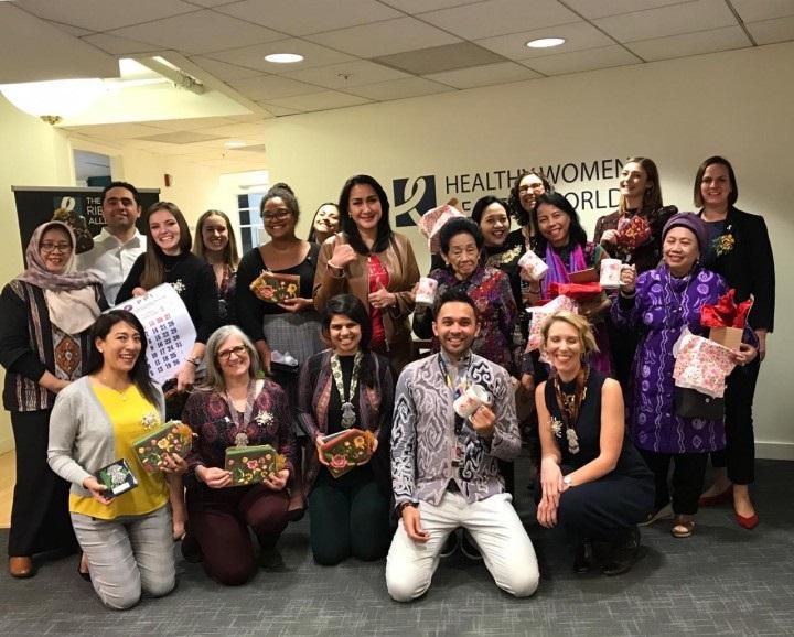 Konferensi GWRA Washington, Pita Putih Indonesia Gelorakan Ibu Sehat, Indonesia Sehat
