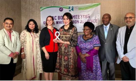 DR. Giwo Rubianto Dianugerahi Penghargaan Internasional di Tatap Muka NAC